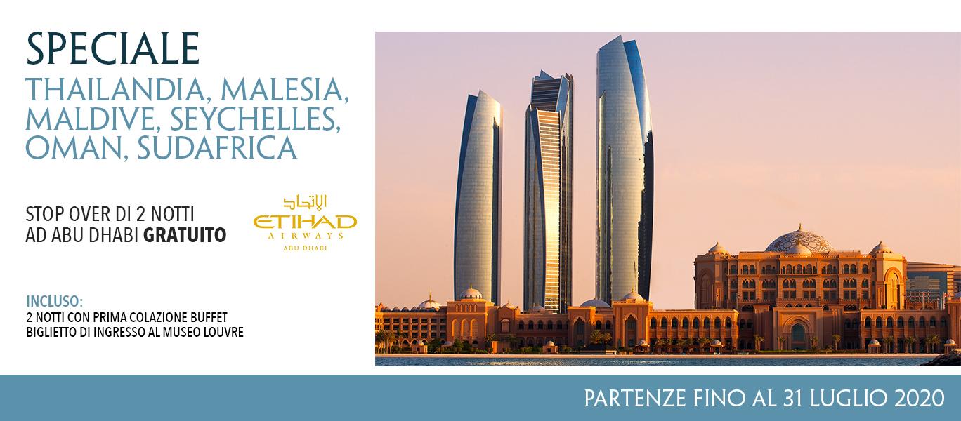 Abu Dhabi stopover gratuito
