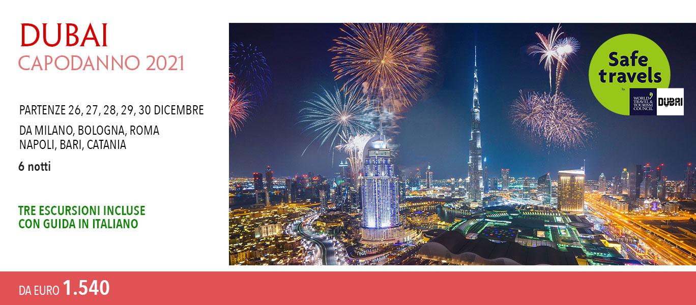 Capodanno 2021 a Dubai