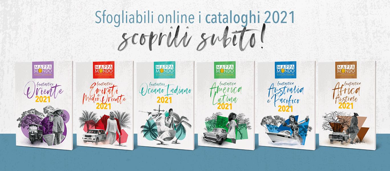 I cataloghi 2021 sono online!