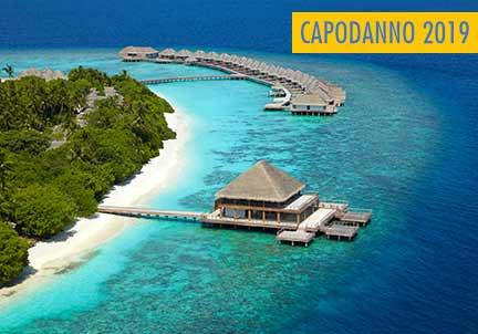 CAPODANNO EXTRA LUSSO ALLE MALDIVE